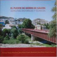 Libro El Puente de Hierro de Galera. Aspectos históricos y técnicos