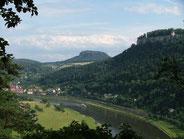 Blick nach Königstein