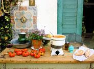 La cuisine d'ete´