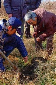 木村秋則氏による農業指導