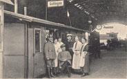 Bahnhof-Erfrischungshalle, 1914-1918: Verpflegungsstation. Städtisches Museum Göttingen