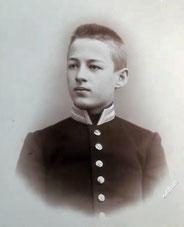 Володя Давыдов — племянник Чайковского, фото из дома-музея в Клину