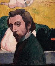 Emile Bernard, Autoportrait, collection musée des beaux-arts de Brest.