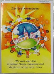 Kommunionkarte Kinderkreis