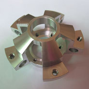 3 axis cnc machined part