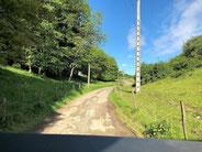 Grande route vers l'hôtel Petit Kohlberg Lucelle/FR