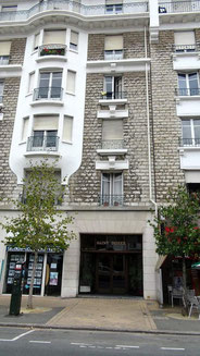 Le siège du Club de la presse basque