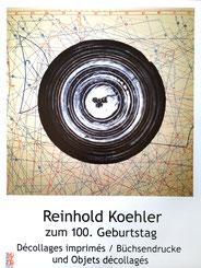 Reinhold Koehler, Siegen, Decollages imprimes, Kunstkreis Siegerland