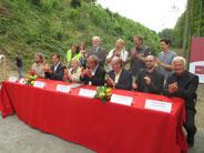 Signature de la charte de la vallée de l'archéologie sept 2014