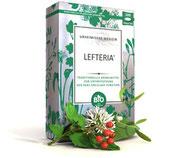 Naturprodukt Lefteria®  traditionelles pflanzliches Arzneimittel zur Unterstützung der Herz-Kreislauf-Funktion ausschließlich aufgrund Überlieferung und langjähriger Erfahr