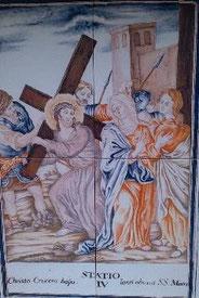 Via Crucis IV, El Desierto de las Palmas