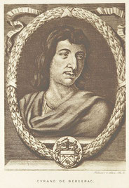 Cyrano de Bergerac, the man whom the play is based upon.