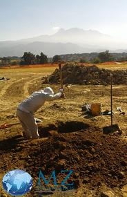 Mecánica de suelos, Ingenieros, Pozo a Cielo Abierto (PCA), Ingeniería civil, exploración y muestreo de suelos, pozo a cielo abierto con muestreo alterado e inalterado, estudios de mecánica de suelos