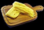 当店のスパゲッティはもっちり生パスタ使用!
