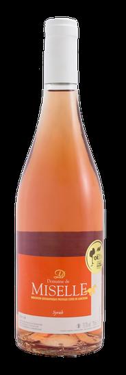 Domaine de Miselle 100% Syrah Rosé Wine