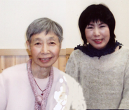 刀坂成子先生と松尾代表