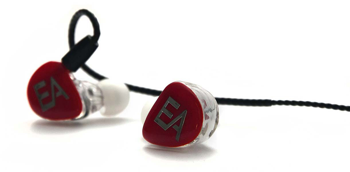 Ecouteurs intra auriculaires in ear monitors EA B601B de Erdre Audio