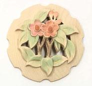 2寸花丸彫物彩色3
