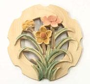 2寸花丸彫物彩色2