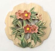 2寸花丸彫物彩色6