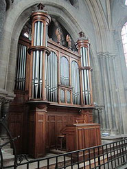 Orgue Merklin - de la cathédrale de Moulins (F)