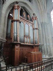 Orgue Merklin - de la cathédrale de Moulins (F)