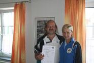 6. Platz für Vorisek Anton
