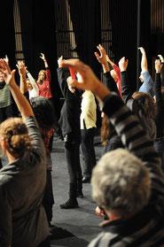 Chant médiéval et contemporain, Abbaye de Sylvanès, A vous de jouer