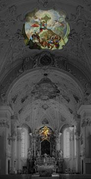 Fulpmes, St. Vitus Inneres.– bearb. ZAC· 2019