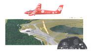"""Planeur """"Aérodrome Montagne Noire"""""""