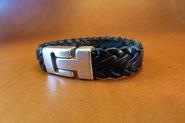 Bracelet tressé avec 7 brins