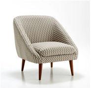 fauteuil tissu la redoute