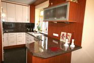 Bild: Die Küche in der es an Nichts fehlt in der Ferienwohnung Nr. 13