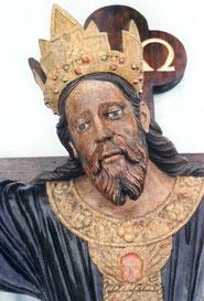 Particolare del Crocifisso ligneo della S. Croce di Lucca