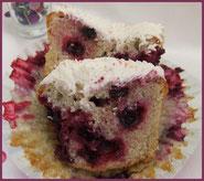 cupcake fruits rouges