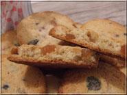 recette biscuit aux fruits confits