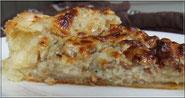 recette tarte salée au bleu et aux noix