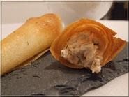 Recette des cornets au saumon