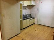 【施工前】キッチン