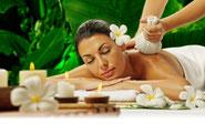 Kraüterstempeln-Massage