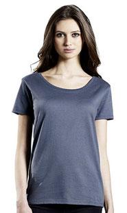 T-Shirt bedrucken lassen Basic Damen TShirt in vielen Farben erhältlich