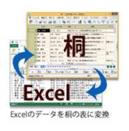桐とExcel