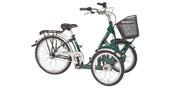Pfau-Tec Bene Dreirad und Elektro-Dreirad für Erwachsene - Front-Dreirad 2017