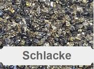 Schlacke, Schmelzkammerschlacke, Aluminiumsilikat, Strahlmittel