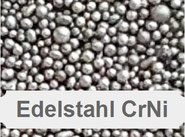 CrNi, Chrom, Nickel, Edelstahl, Stahlkugeln, Stahlgusss rund, Strahlmittel aus Metall, Strahlkugeln, Stahlperlen, Kugelstrahlen