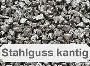 Stahlkies, Stahlgrit, Stahlgusss kantig, Strahlkies, metallisches Strahlmittel, Kiesstrahlen