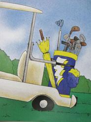 『ゴルフの本』9ページ目