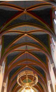 Sternendecke der Marktkirche Wiesbaden