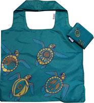 Chilino Bag Tasche Schildkröte Turtle, dunkelgrün