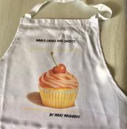 Druckatelier46 - Küchenschürze Druck Marys Cakes and Sweets
